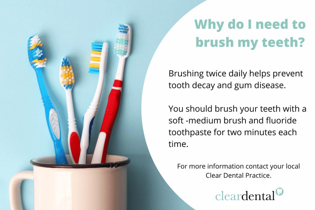 Why do I need to brush my teeth?