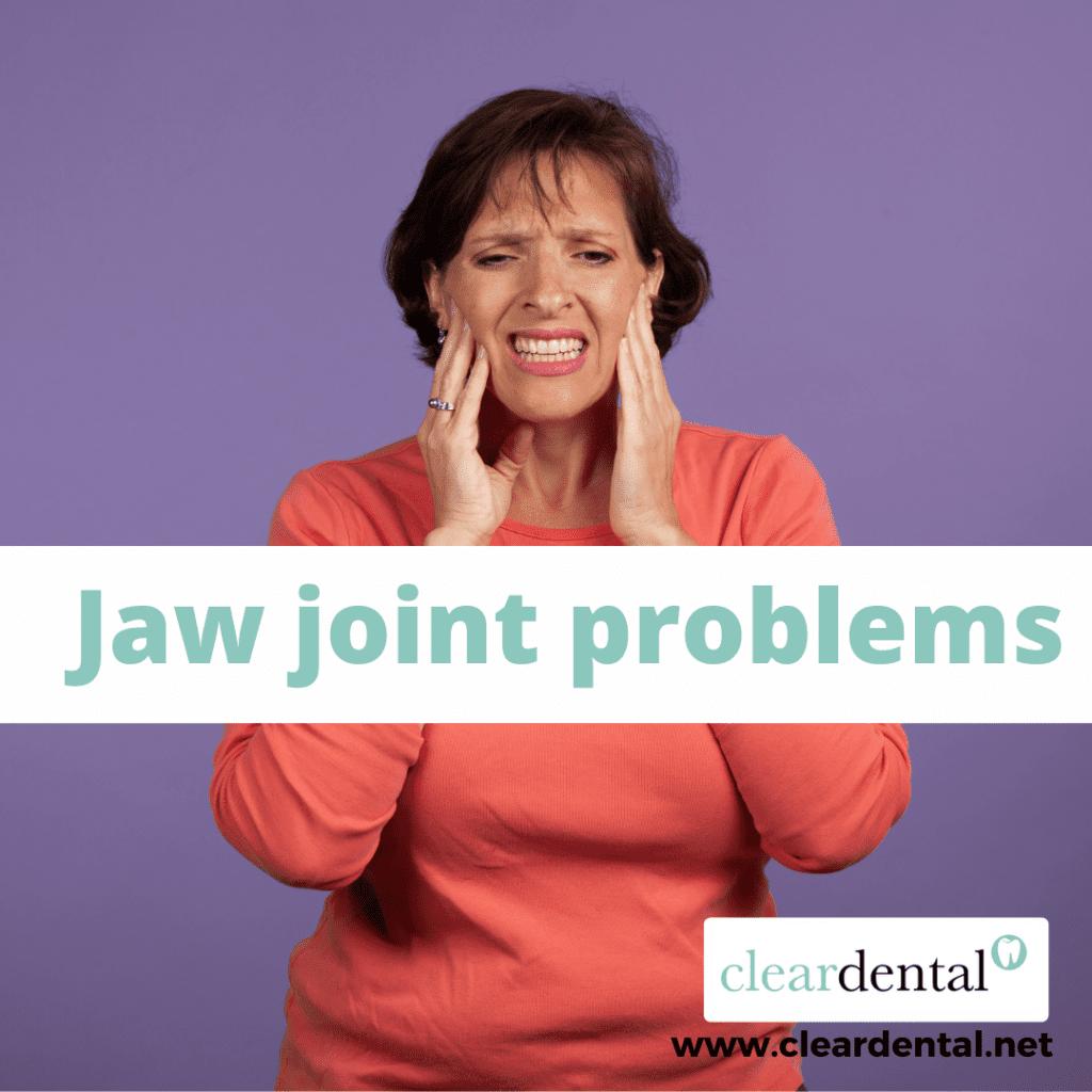 Temporomandibular (jaw) joint problems